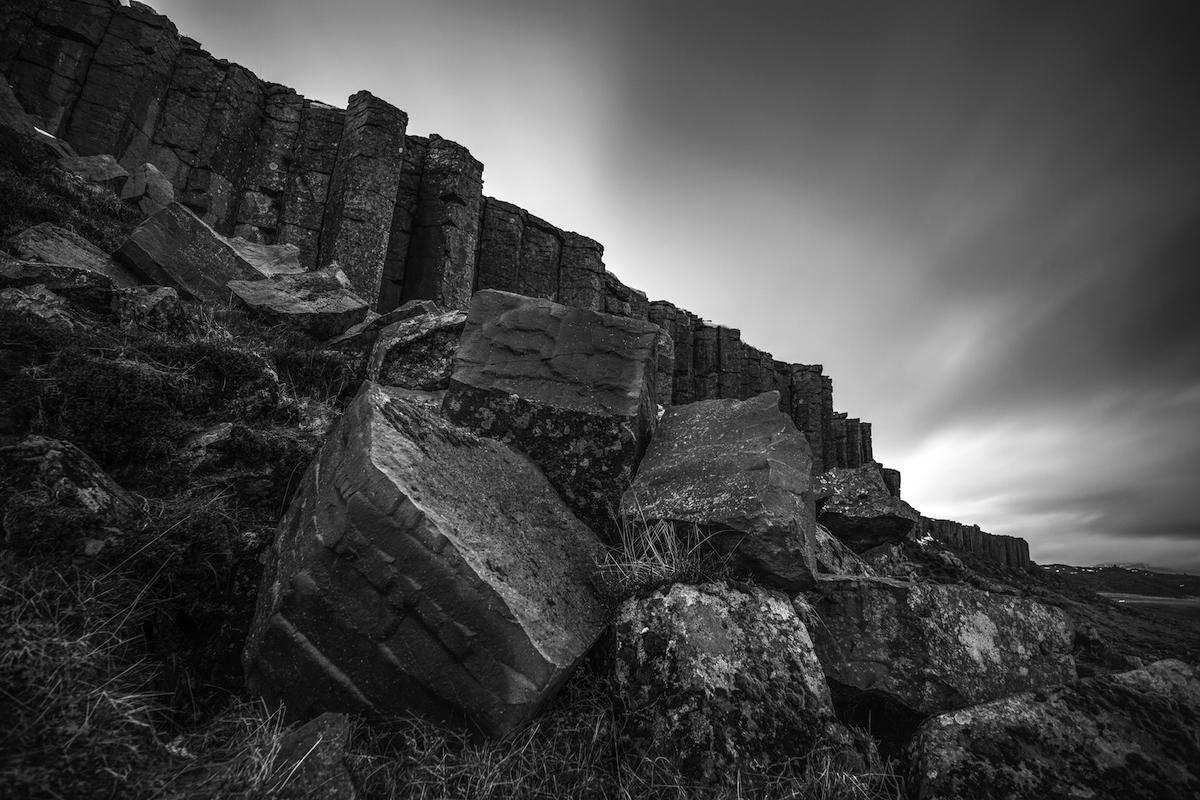 Basalt Columns in Snaefellsnes