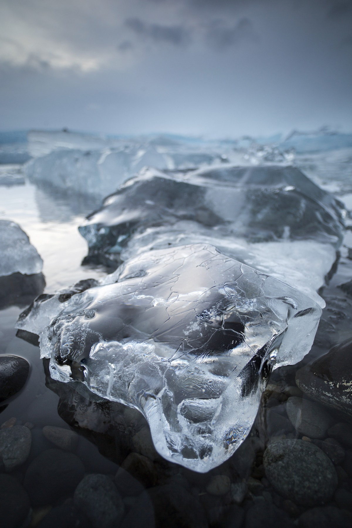 Crocodile Ice at Jökulsárlón 1