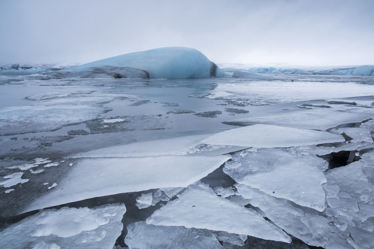 Ice at Jökulsárlón