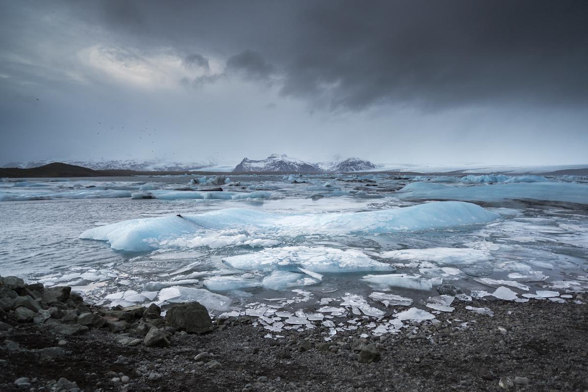 Jökulsárlón Blue Icebergs