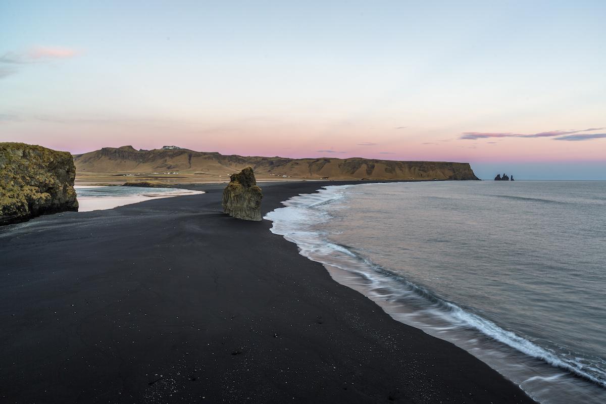 Sunset at Dyrhólaey 1